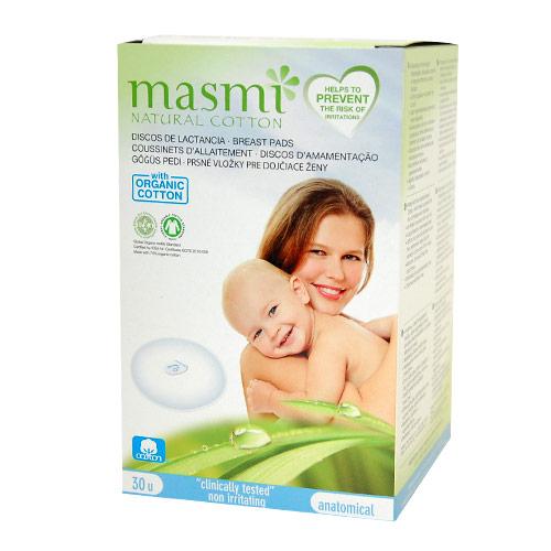 masmi オーガニックコットン 母乳パッド