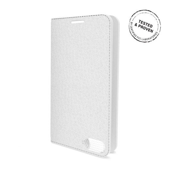 電磁波対策手帳型スマホケース  iPhone 7 Plus (ホワイト)