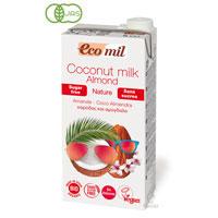有機ココナッツ&アーモンドミルク (無糖)