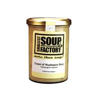 やわらかマッシュルームをコトコト煮込んで仕上げた 濃厚クリームスープ