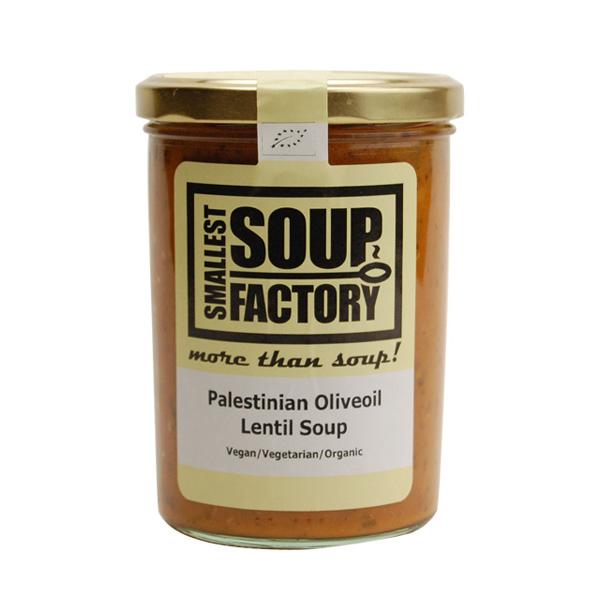 オリーブオイルの風味が虜にする 聖書の地に伝わるレンズ豆スープ