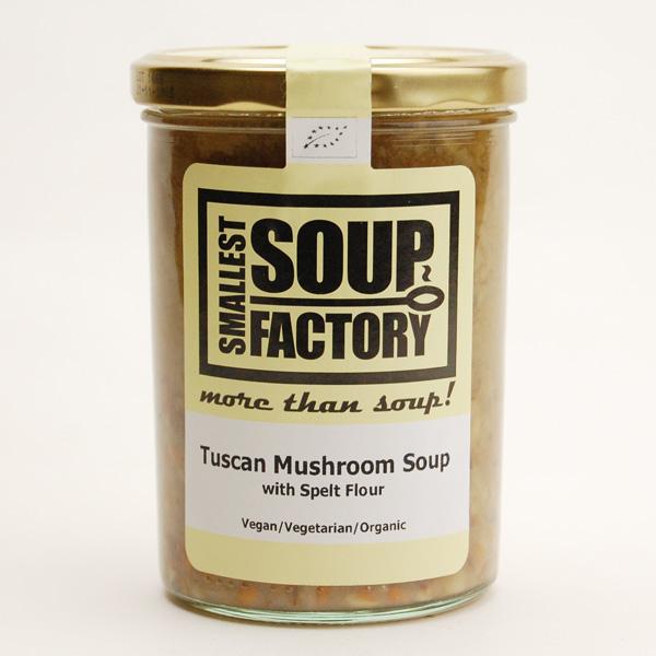 古代エジプトのスペルト小麦とマッシュルームの競演 トスカニアなスープ